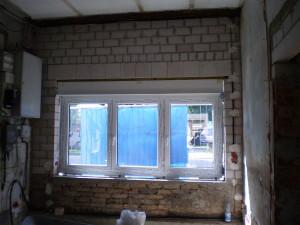 Herstellen neuer Öffnungen, Fenstereinbau