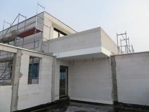 Rohbau Dachgeschoss_