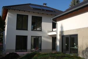 Fassade mit Oberputz
