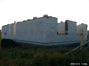 Mauerwerk Erdgeschoss
