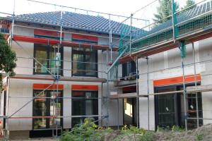 Dachdecker / Fenster / Fassadengerüst