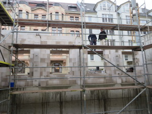 Maurer- / Gerüstarbeiten Wohngebäude