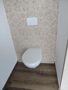 Fliesen im WC-Bereich
