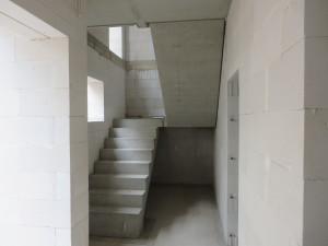 Blick ins Treppenhaus im Eingangsbereich