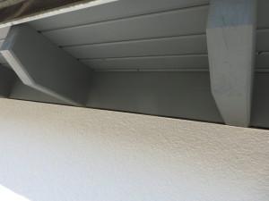 Detail Stellbrett / Fassadenanschluss