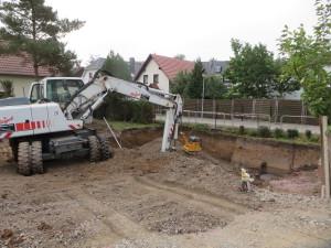 Baugrubenaushub / Bodenaustausch