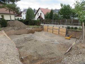 Baugrube / Verbau / Bodenaustausch