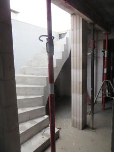Kellertreppe aus Beton