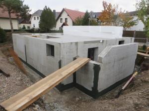 fertiger Keller aus WU-Beton