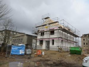 Errichtung Dachtragwerk
