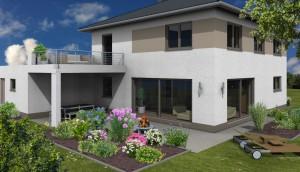 Planung: Gartenansicht