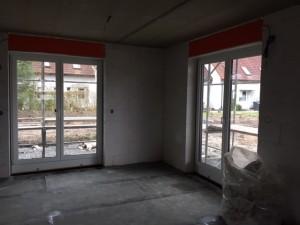 Schweißbahn auf der Bodenplatte (Flächenabdichtung)