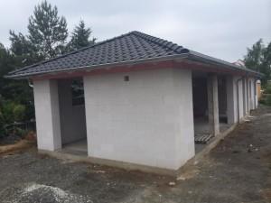 Dachdeckerarbeiten abgeschlossen