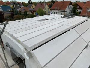 Hebel-Dach