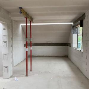 Unterstützung der Hebel-Dachplatten