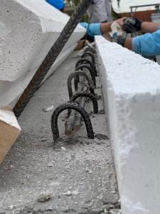 Ringanker für Hebel-Dach