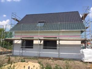 Fertigstellung Dacheindeckung