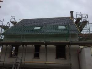 Dacheindeckung Hauptdach