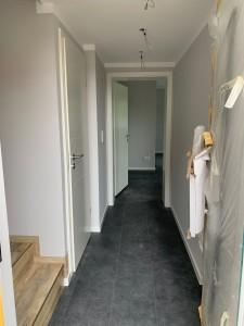 Völlig neu gestalteter Eingangsbereich