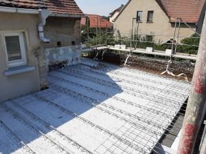 Deckenplatten Anbau