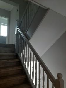 Aufarbeitung Treppe fertig gestellt