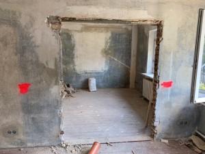 Herstellen von neuen Öffnungen im Innenbereich