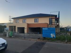 Komplettierung Fassadenanstrich