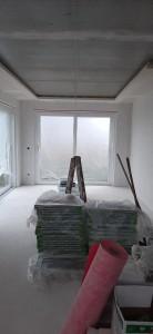 Trockenbaudecke für die indirekte Beleuchtung im Wohnbereich