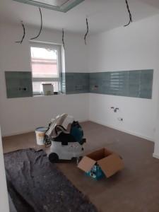 Fliesenspiegel im Küchenbereich