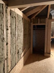 Ausbau des begehbaren Dachbodens