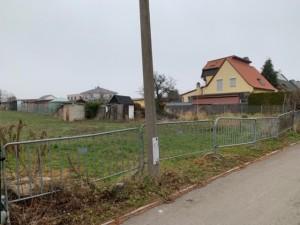 Baugrundstück Doppelhaushälfte rechts
