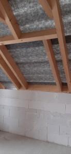 Einbau der Wechsel für Dachflächenfenster