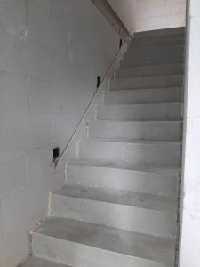 Rohinstallation für Treppenbeleuchtung