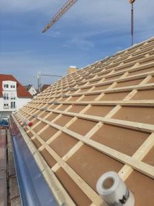 Unterdeckplatten anstelle Folie und Dachlatten
