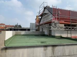 Abdichtung der Dachterrasse