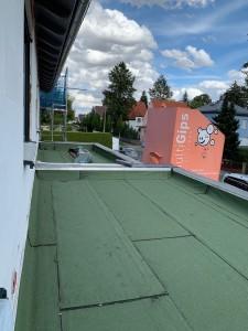 Abdichtungsarbeiten für Gründach