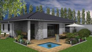 Planung: Ansicht Terrasse