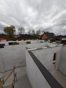Fertigstellung Erdgeschoss-Mauerwerk
